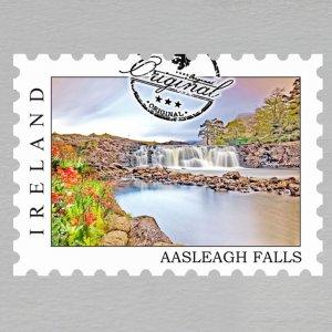IRSKO - Magnet známka - Aasleagh Falls