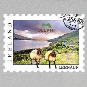 IRSKO - Magnet známka - Delphi resort