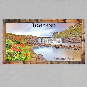 IRSKO - Magnet DL rámeček - Aasleagh Falls