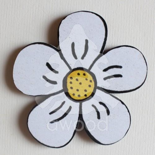 Květina – Magnetky barevné  ea291d99987